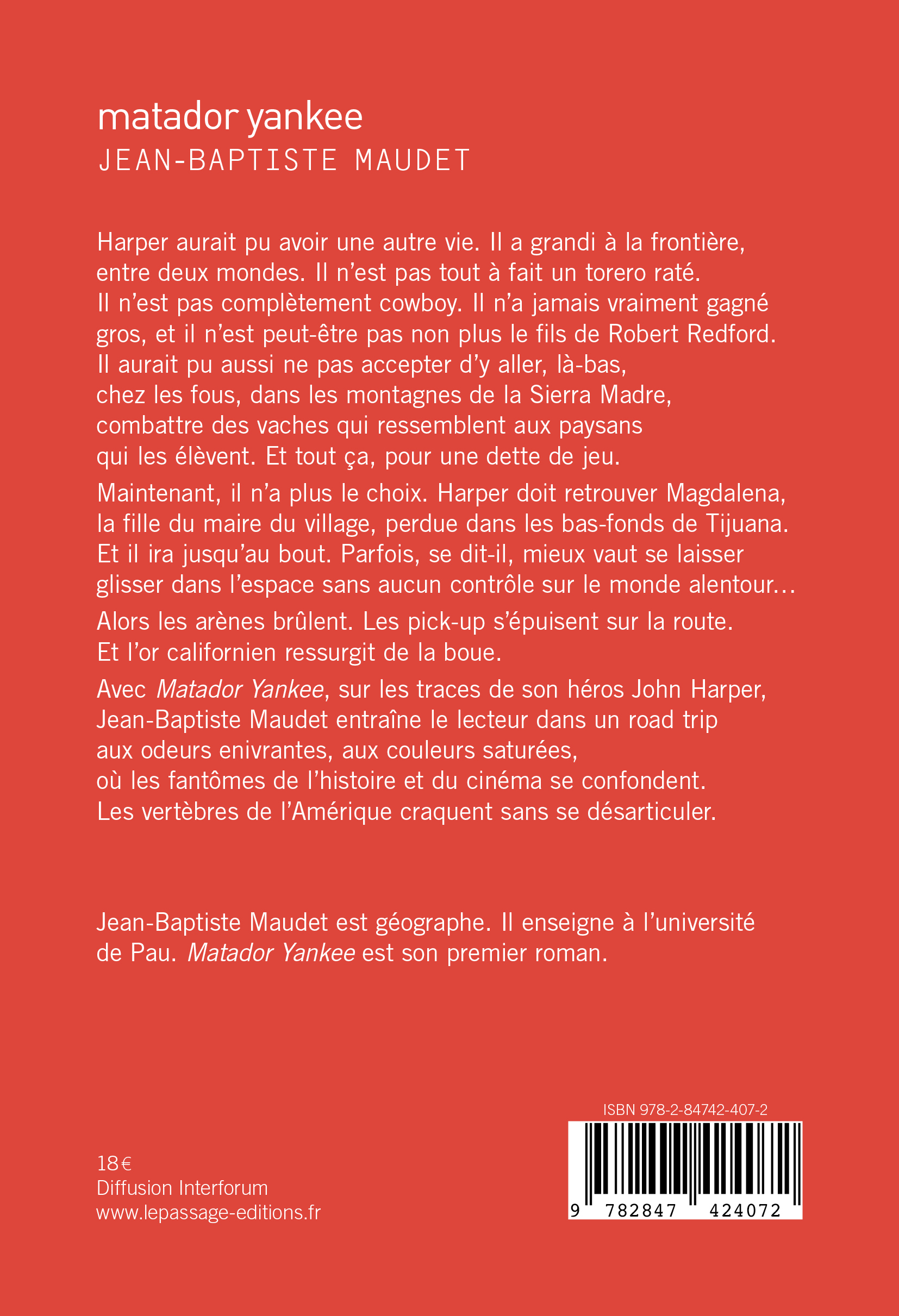 Matador_yankee-4e_Jaquette