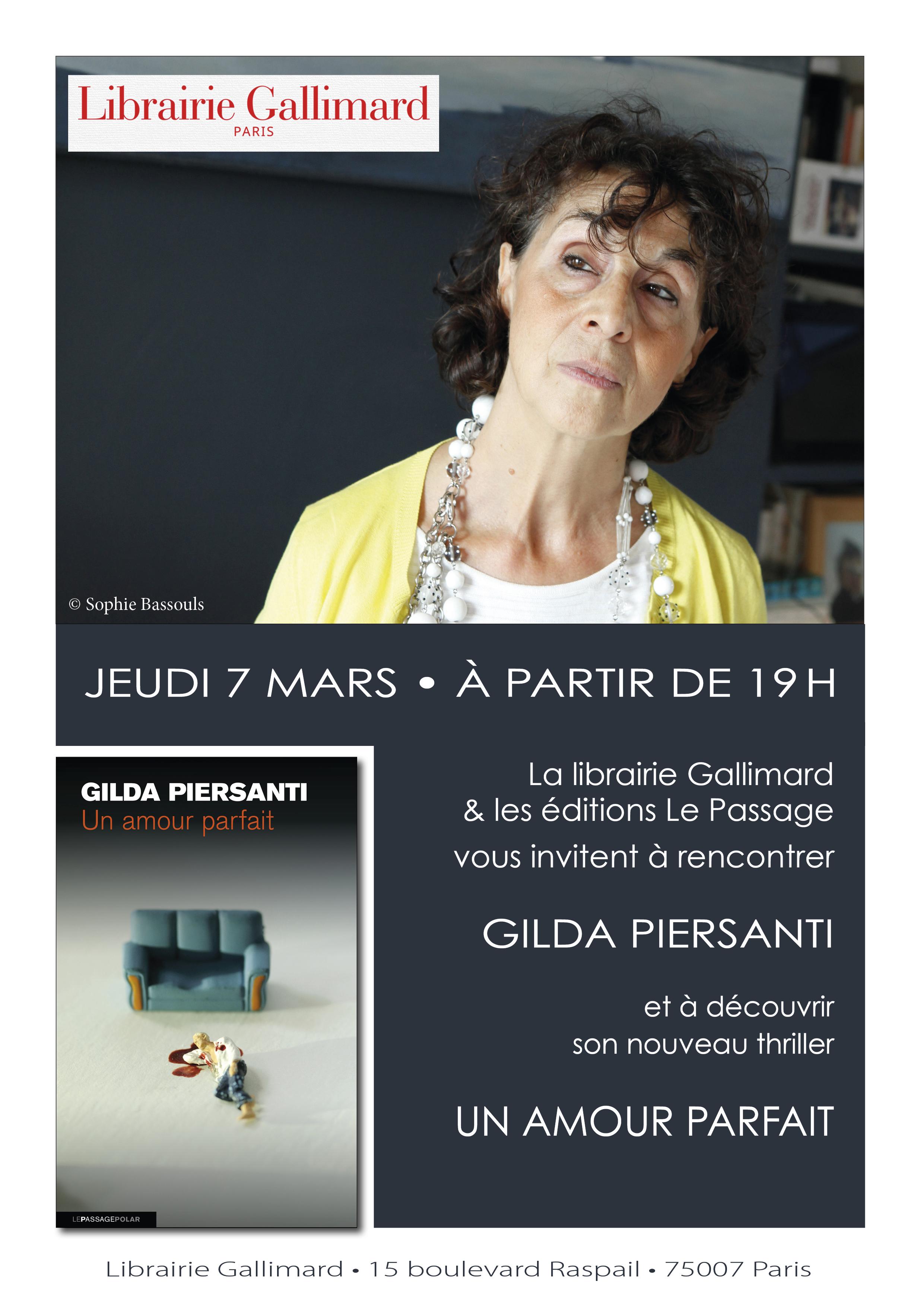 Affichette A4 GP Lib Gallimard