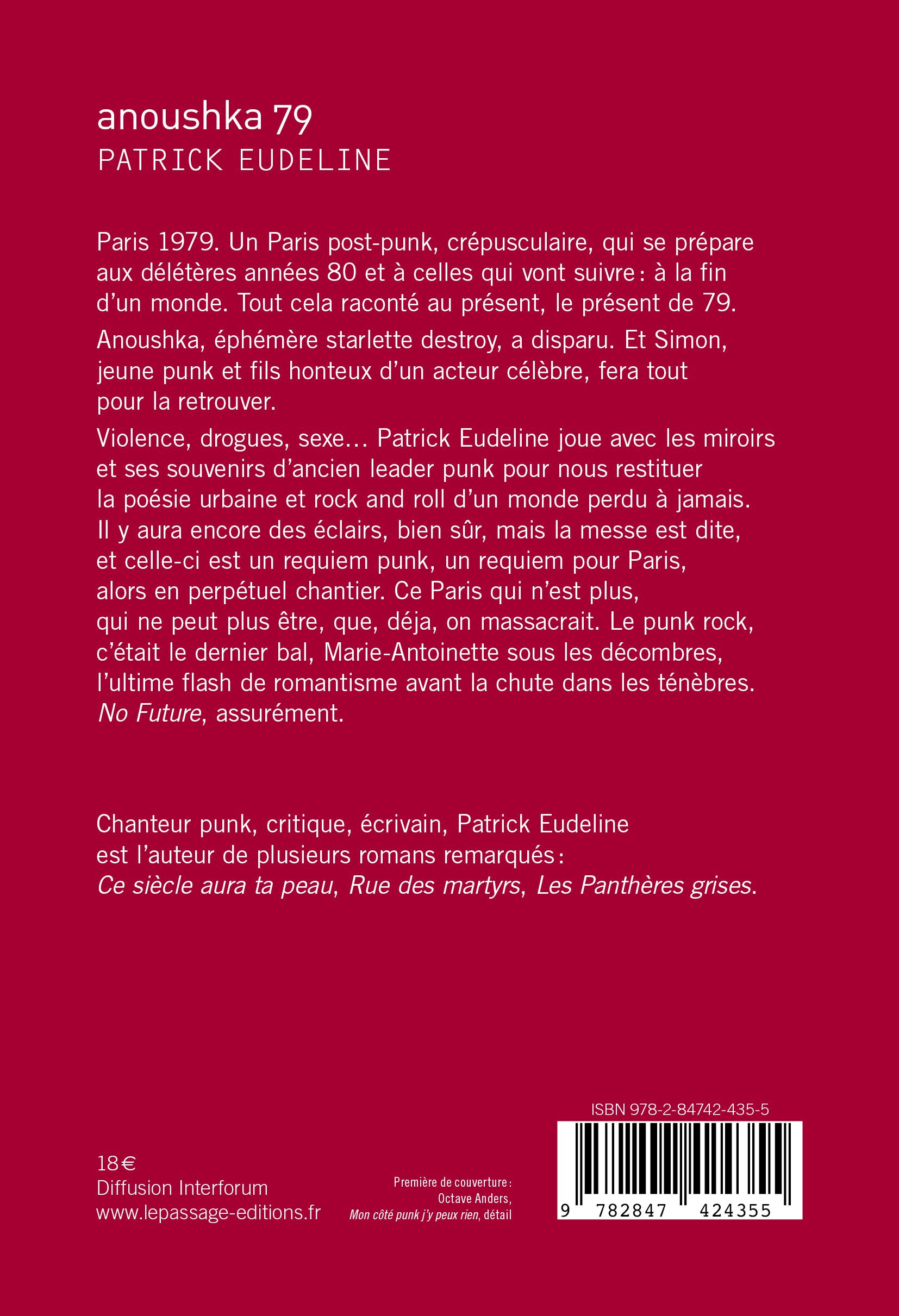 LePassage-Patrick_Eudeline-Anoushka_79-4e_couv-SI